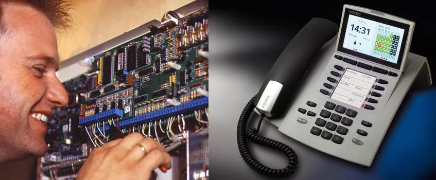 Ihre neue Telefonanlage, IP-Telefonanlage oder VoIP-Telefonanlage samt Telefonen und Systemtelefonen - installiert und programmiert von SichTel