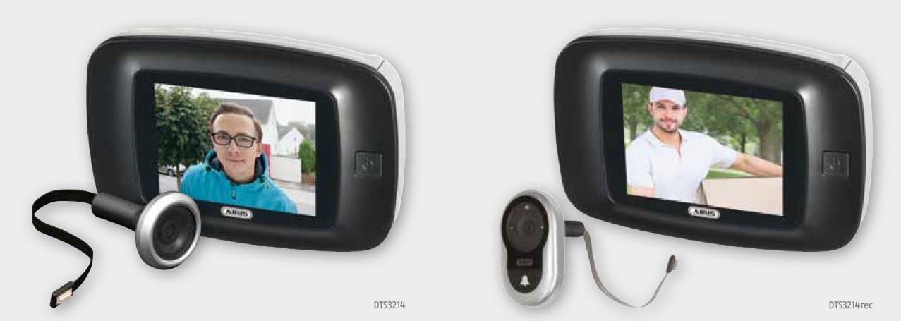 Digitaler Türspion von ABUS - SichTel berät Sie über verschiedene Ausführungen.